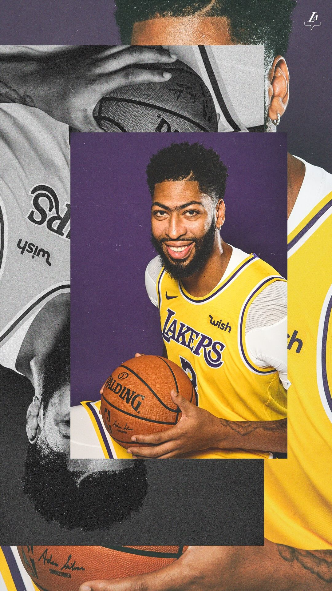 Lakers Wallpapers And Infographics Los Angeles Lakers In 2020 Anthony Davis Lakers Wallpaper Nba Pictures