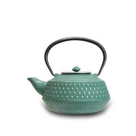 Merae Rikyu Cast Iron Teapot Aqua Http