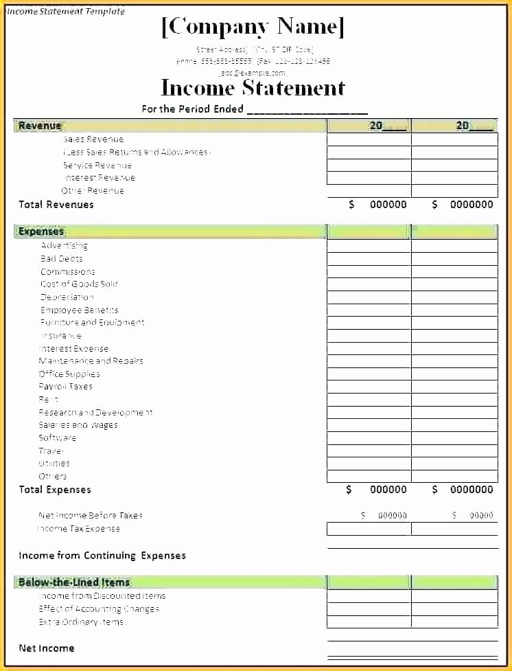 Free Bank Statement Template In 2020 Statement Template