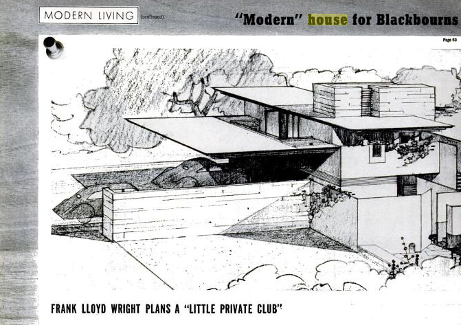 a ready-made planfrank lloyd wright in life magazine | design