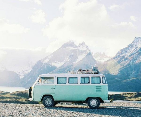 Photo of Vw Travel Campervan In The Mountains #Follow #HashTags #Instagram #Life #Van #va