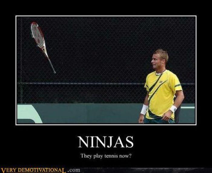 ninjas...