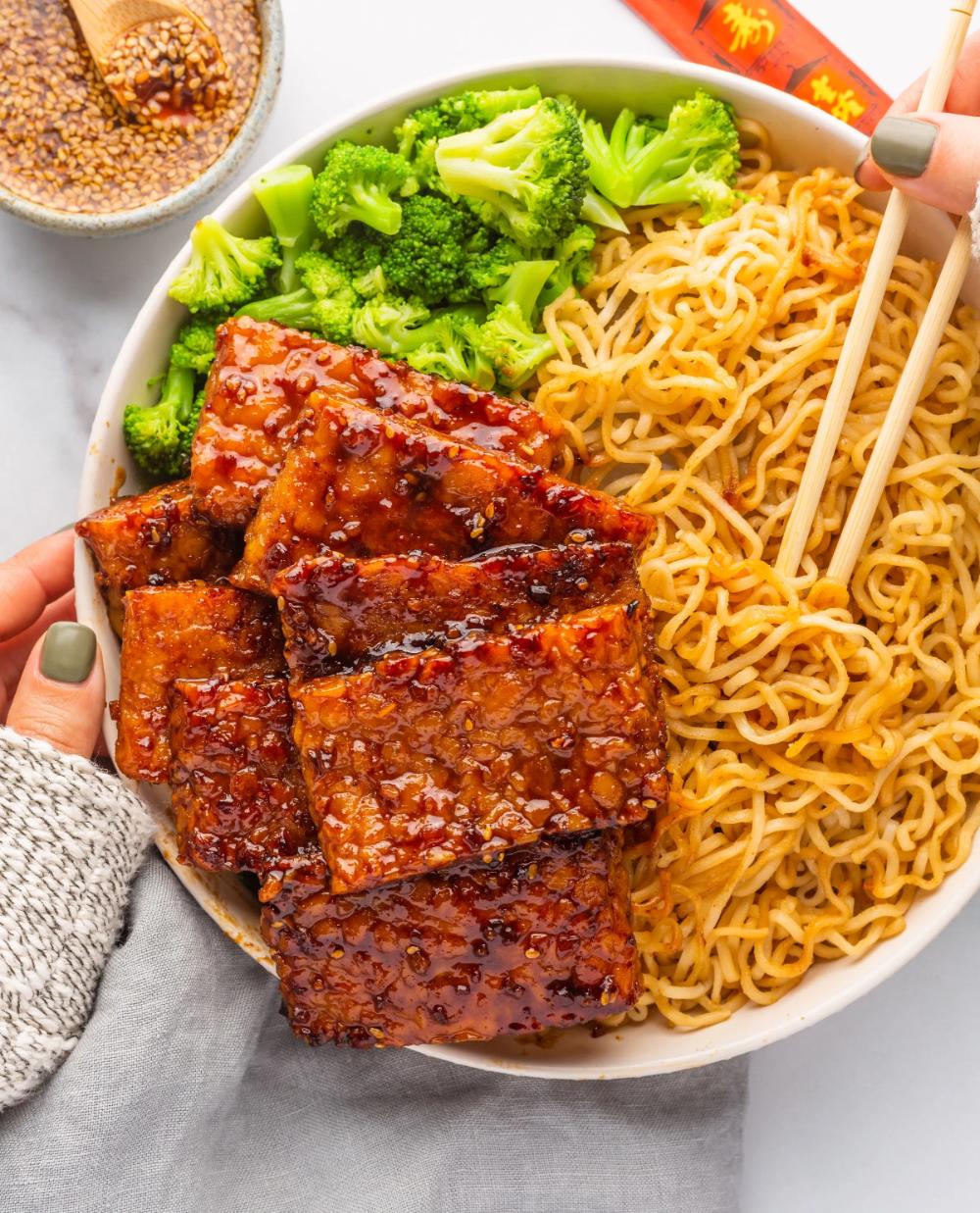 "Vegan Chinese BBQ ""Ribs"""
