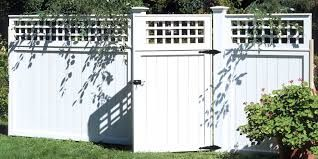 Image result for different fence styles in same  yard