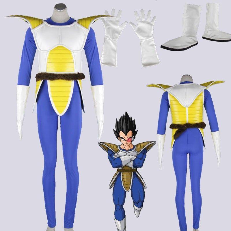 Dragong Ball Vegeta cosplay costume set 2 Party Full Set