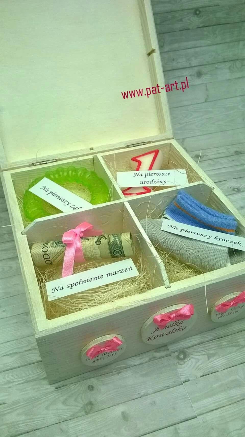 Na Chrzciny Prezenty Urodzinowe Pomysly Urodzinowe Pakowanie