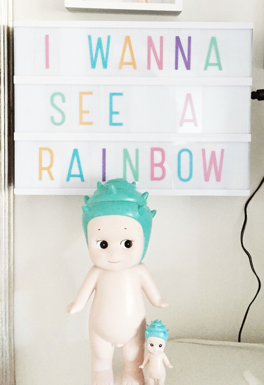 little lovely company lightbox and pastel letterset sonny. Black Bedroom Furniture Sets. Home Design Ideas