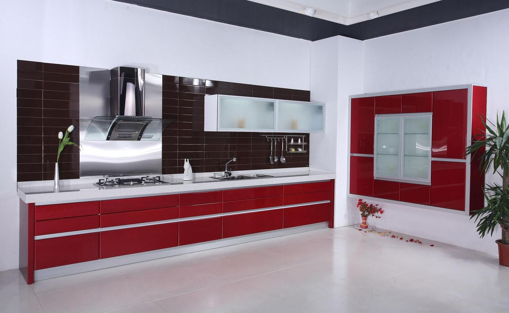 kitchencontemporary barstool window red and white kitchen cabinets handle stainless steel modern led downlight white vinyl laminate flooring books