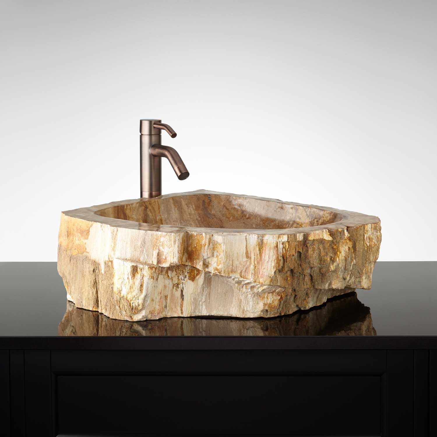 Bathroom Furniture, Fixtures And Decor. Bathroom FurnitureBathroom SinksPetrified  WoodVessel ...