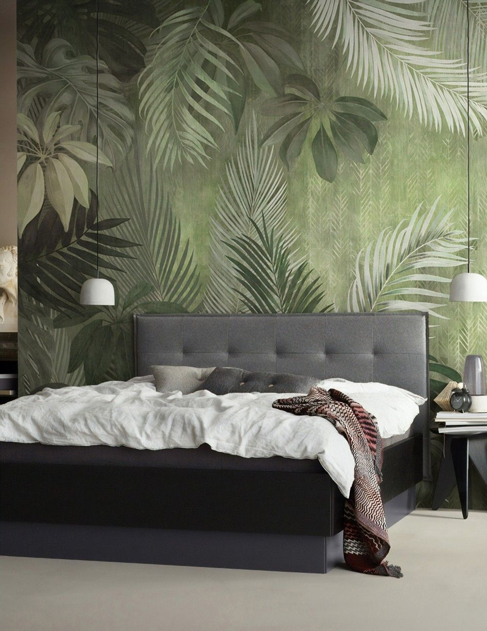 25 Restaurants Hotels With The Most Beautiful Wallpaper Coffee Shop Interior Design Most Beautiful Wallpaper Tropical Style Interior