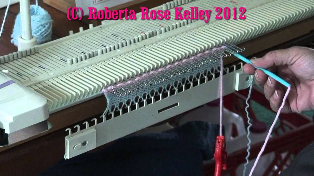 How to do Manual Weaving on the LK150, KX350, Bond, and KH230 ...