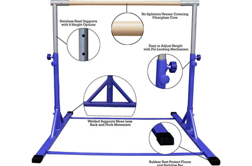 Pin on Top 10 Best Gymnastics Bars for Kids Reviews