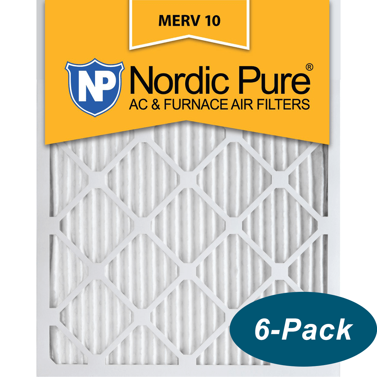Buy Cheap Nordic Pure MERV 10 Pleated FurnaceFilter