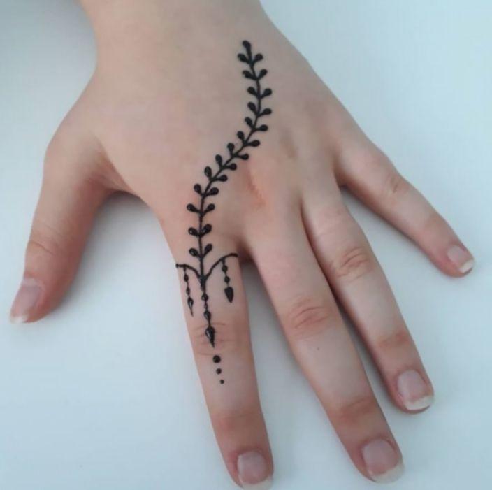 16 Tattoo Hand Finger Small Simple Henna Tattoo Henna Tattoo Designs Hand Henna Tattoo Designs Simple