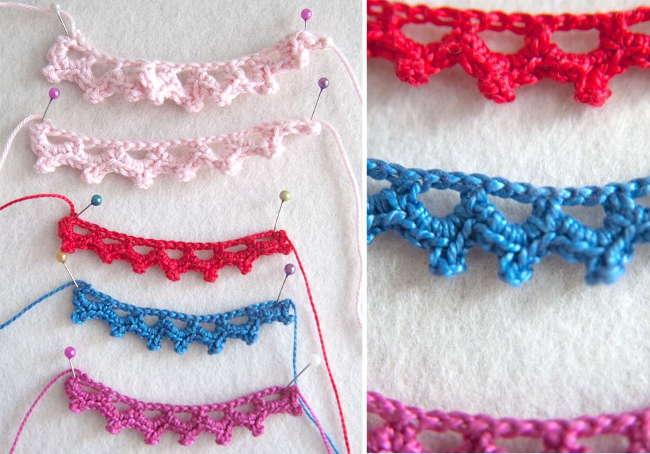 How To Add A Simple Crochet Edge To Your Knitting Crochet Edging