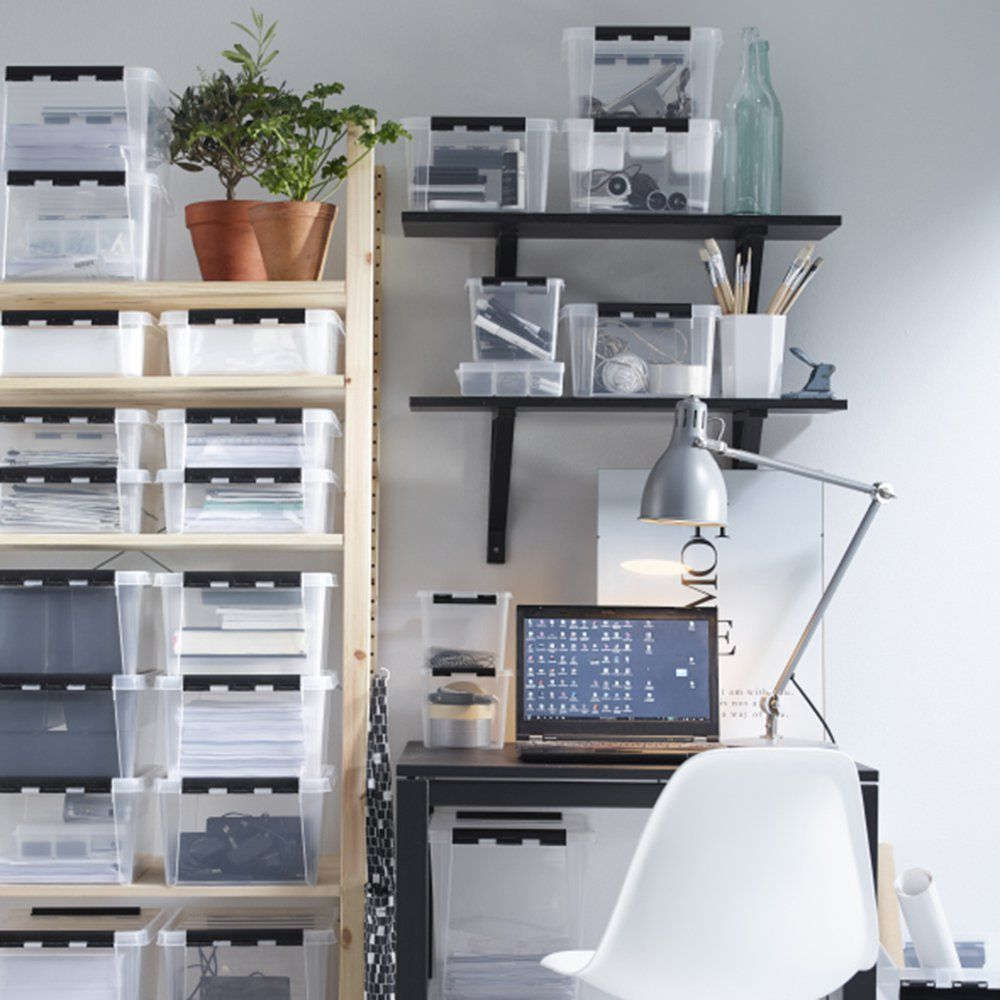 Une autre faon dorganiser son bureau avec des boites en