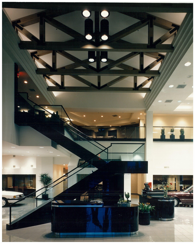 greg motors car dealership 1980s carey berkus designs interiors ...