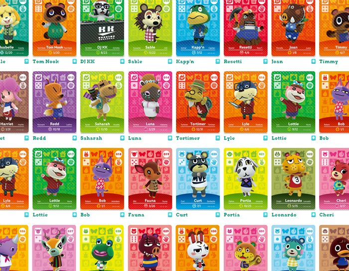 Its better to trade amiibo cards for animal crossing - Happy home designer amiibo figures ...