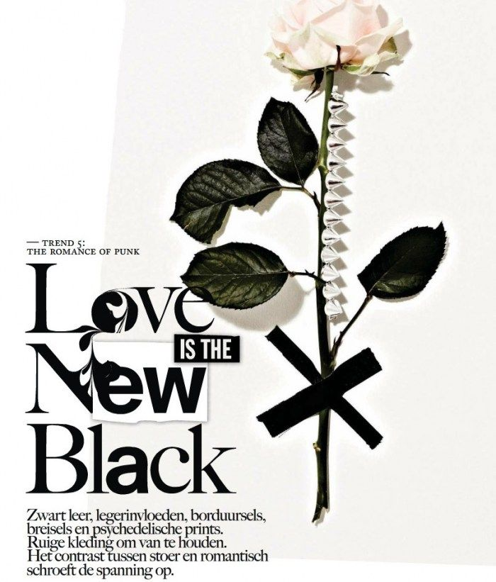 'Love Is The New Black'   Ymre Stiekema, Iris Egbers And Josefien Rodermans By For Vogue Netherlands   September2012