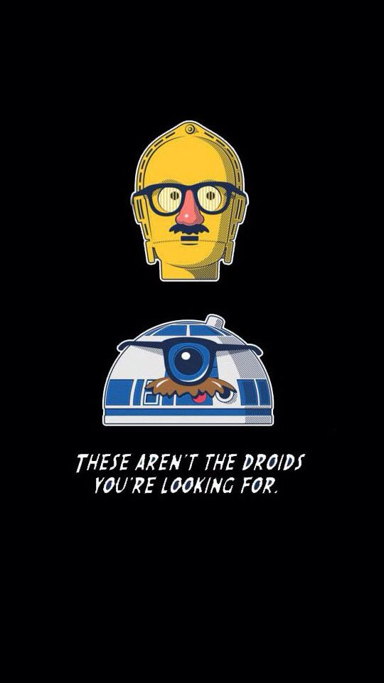 These Arent The Droids Your Looking For Giggles Star Wars