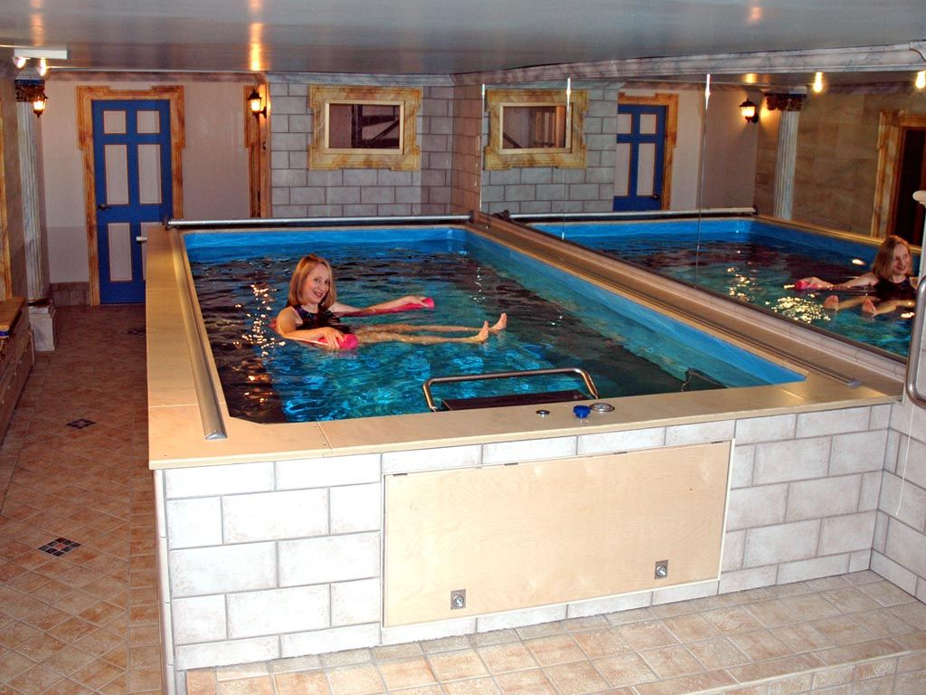 Install A Lap Pool Or Swim Spa Indoors Even Basements Indoor Pool Design Luxury Swimming Pools Indoor Pool House