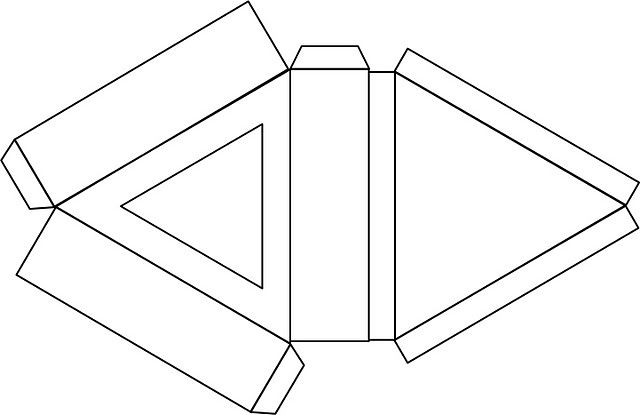 Priteshs Triangular Box
