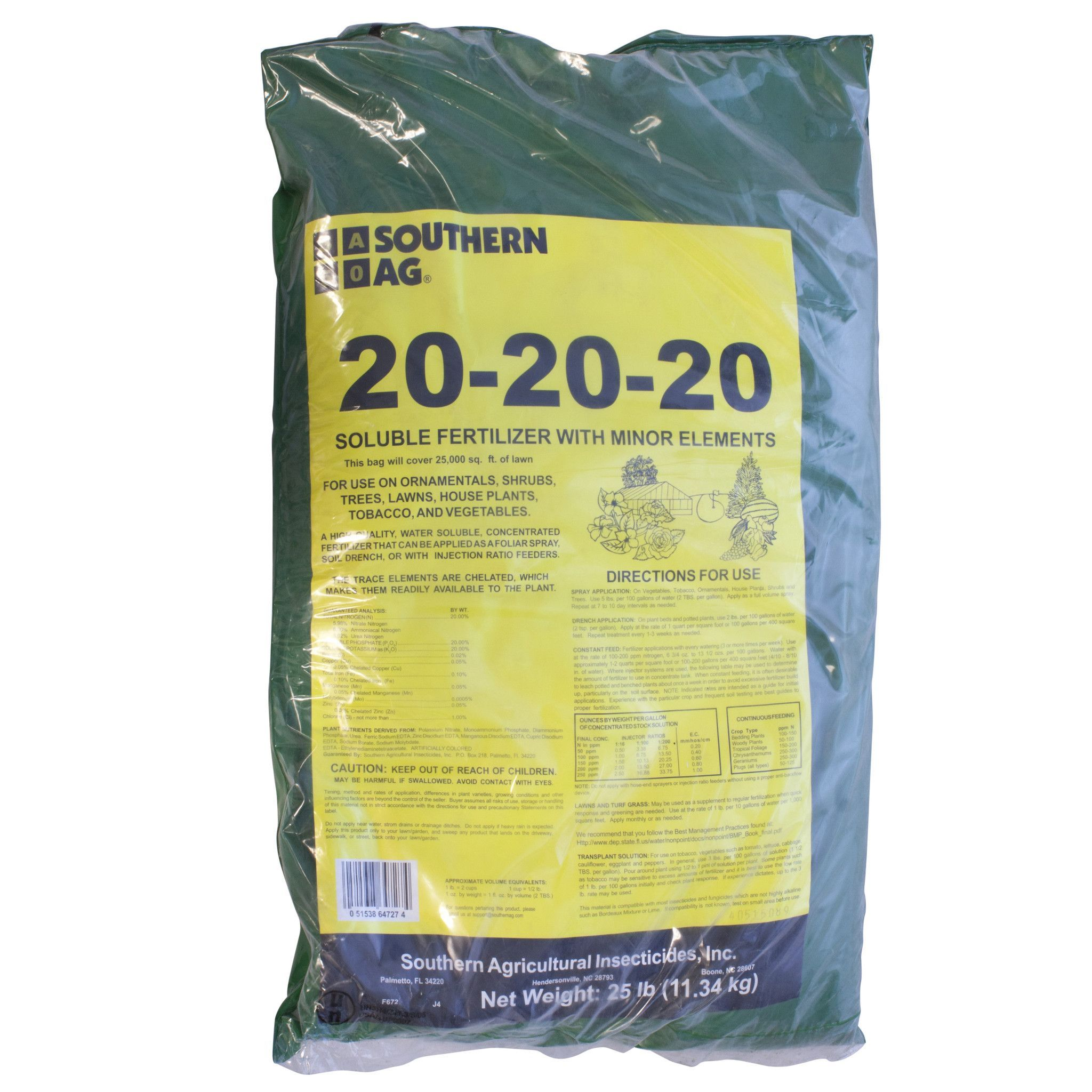 Southern Ag 20 20 20 Soluble Fertilizer Fertilizer Snack Recipes Snacks
