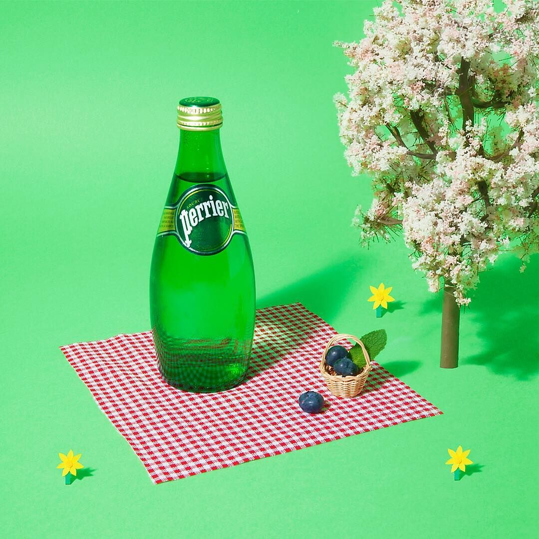 Spring to life with perrier vanessamckeown invo