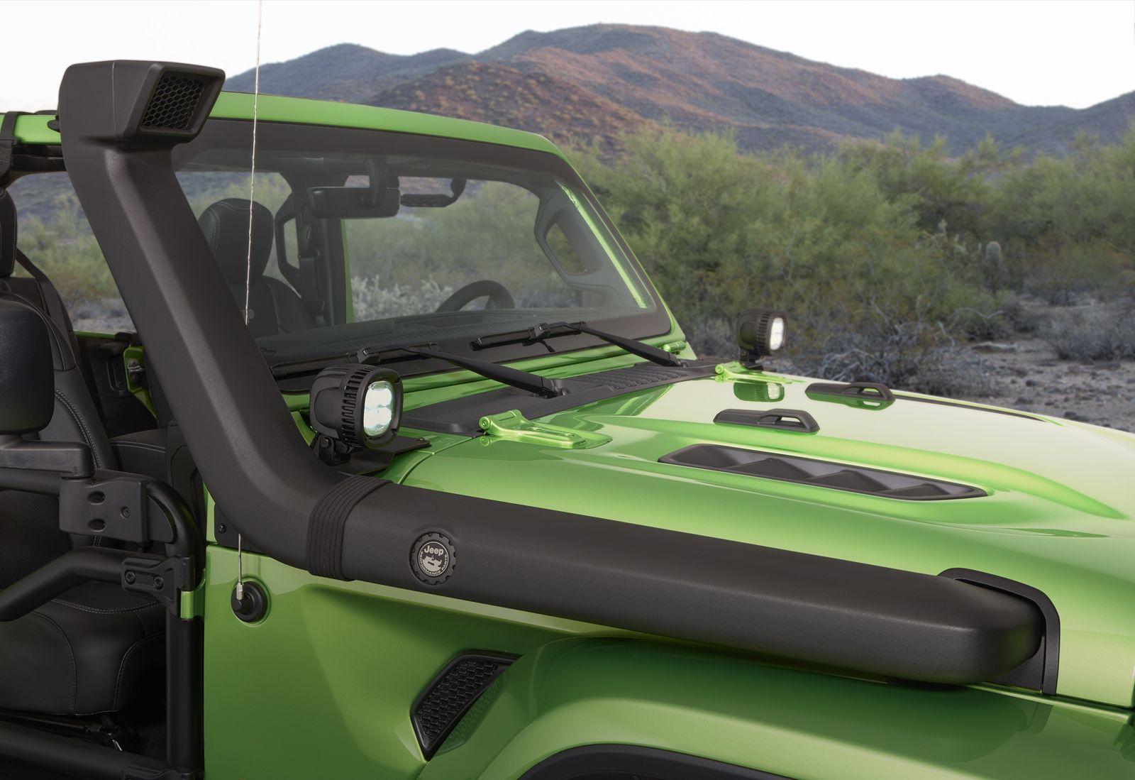 New Wranglers Show Off Mopar Jeep Performance Parts Jeep Mopar