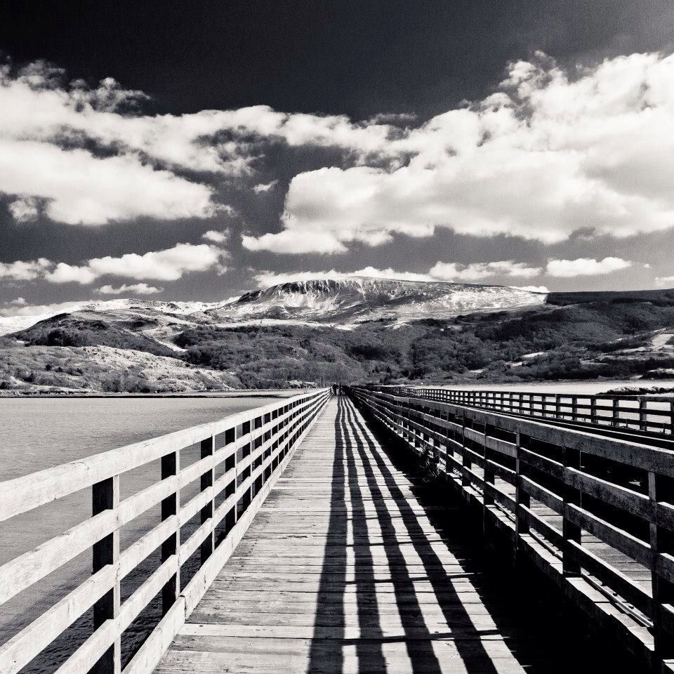 Snowdonia trip - road to snow capped mountains, Wales. www.jamiehunterimages.co.uk