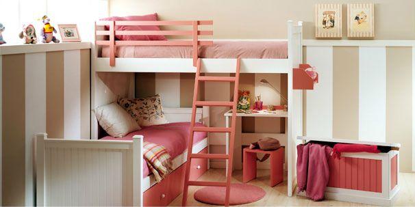 Litera juvenil colormobel habitaciones infantiles y for Literas originales para un cuarto juvenil