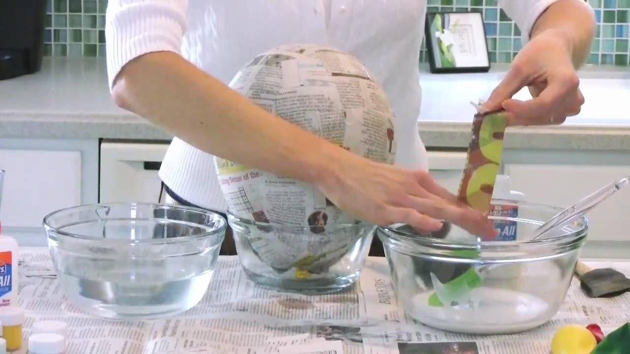 How to make papier-mache