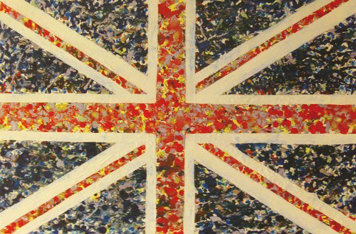 Union Splat - Cocksoup Art - Paintings & Prints Politics & Patriotism Flags &… | ArtPal thumbnail