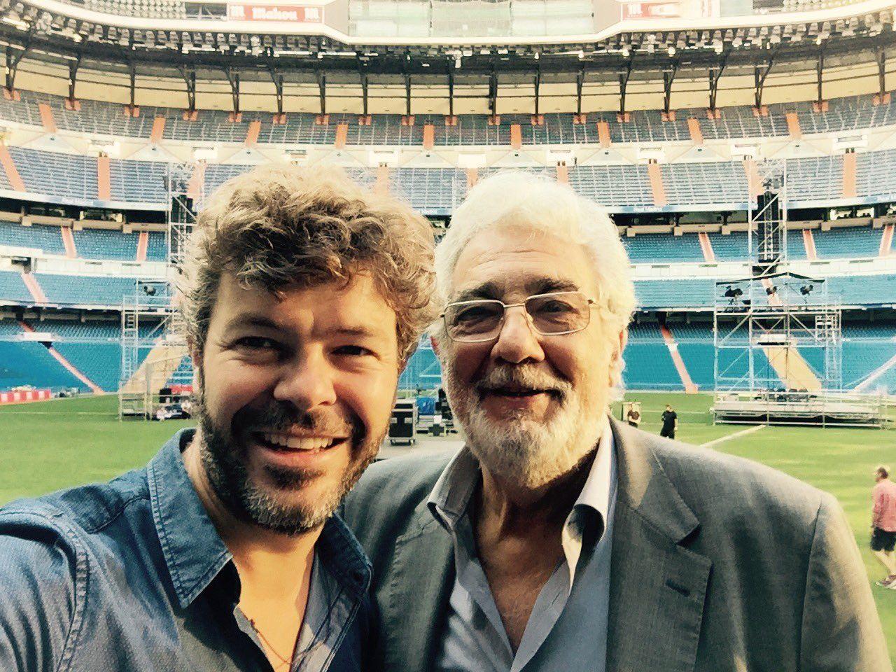 """Pablo Heras-Casado on Twitter: """"Volviendo de ensayar para mi próximo concierto...emocionante! @realmadriden @Fun_Realmadrid @PlacidoDomingo https://t.co/XROodGEb0U"""""""