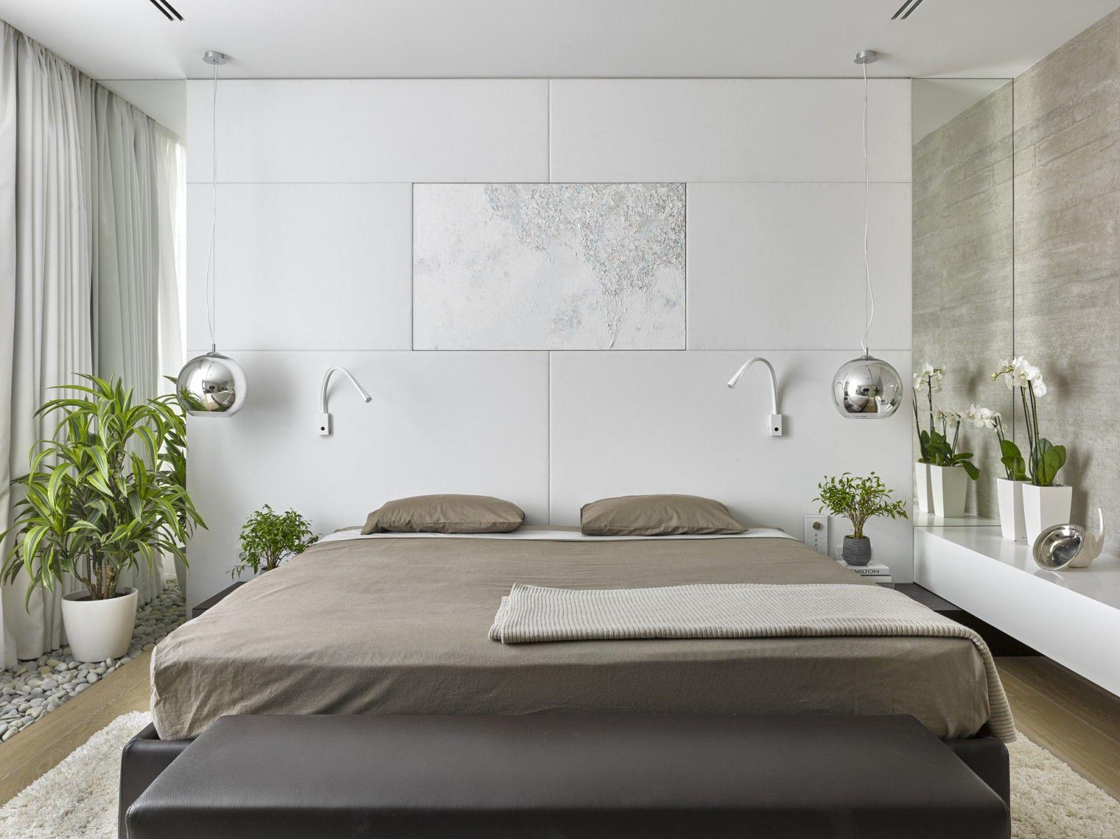 Small Modern Bedroom мастер спальня   chambre à coucher - bedroom   pinterest