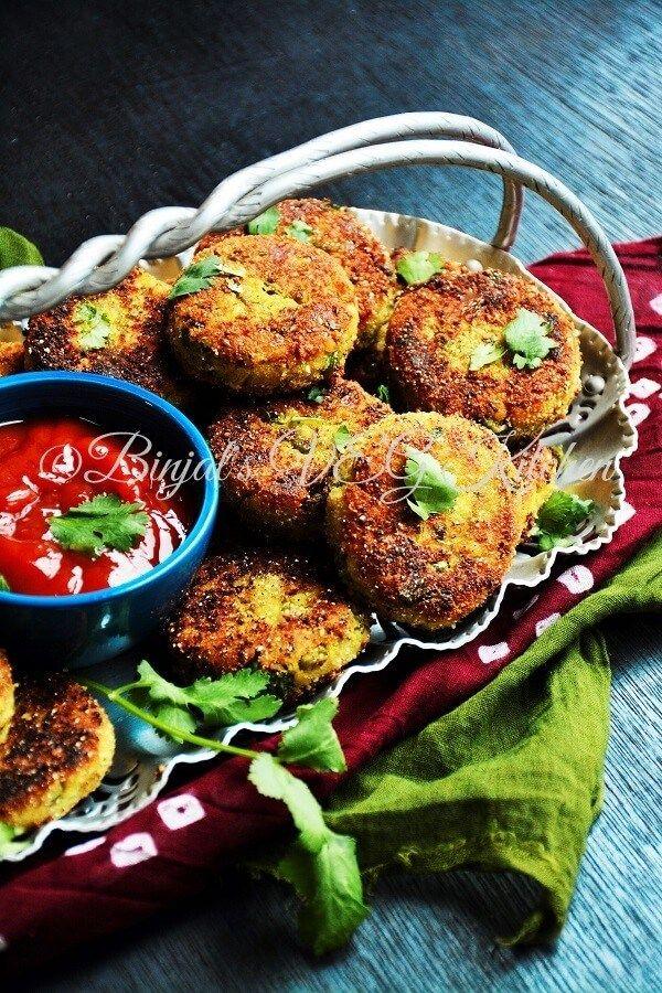 Sprouted Moong Cutlet (Tikki/Kabab) Recipe Ayurvedic