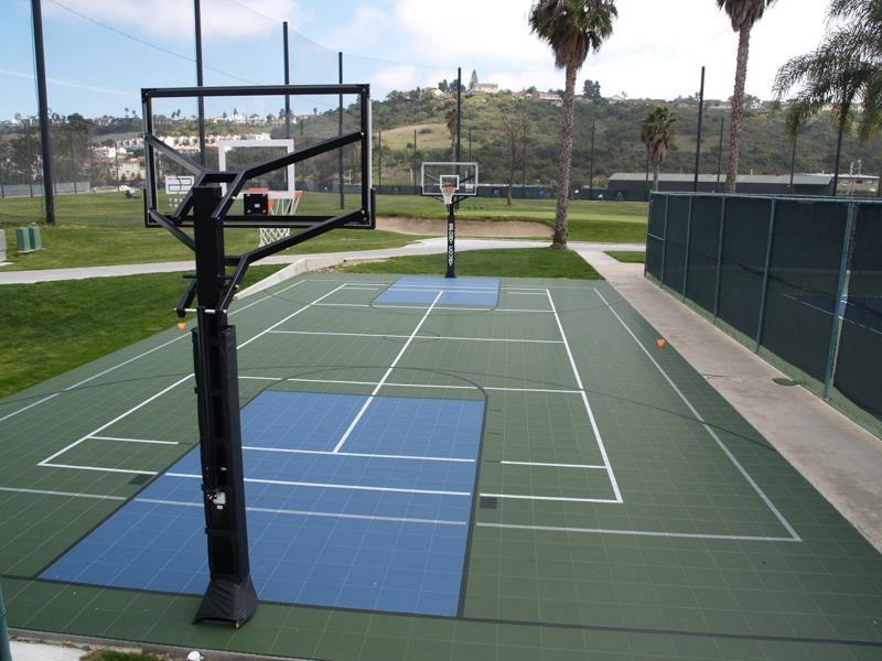 Basketball Tennis court, Outdoor recreation