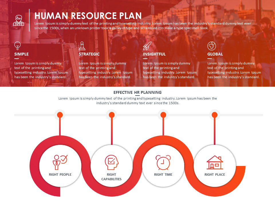 hr plan powerpoint template presentationdesign slidedesign