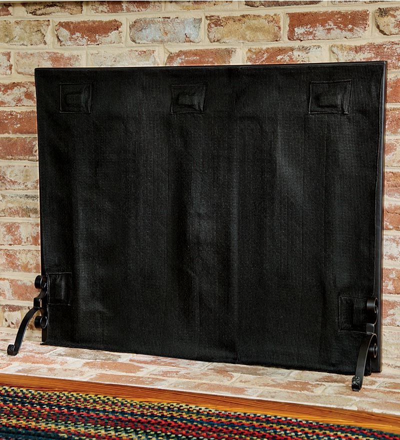 Hearth Covers: Pavenex Fireplace Blanket Stops Overnight Heat Loss. This