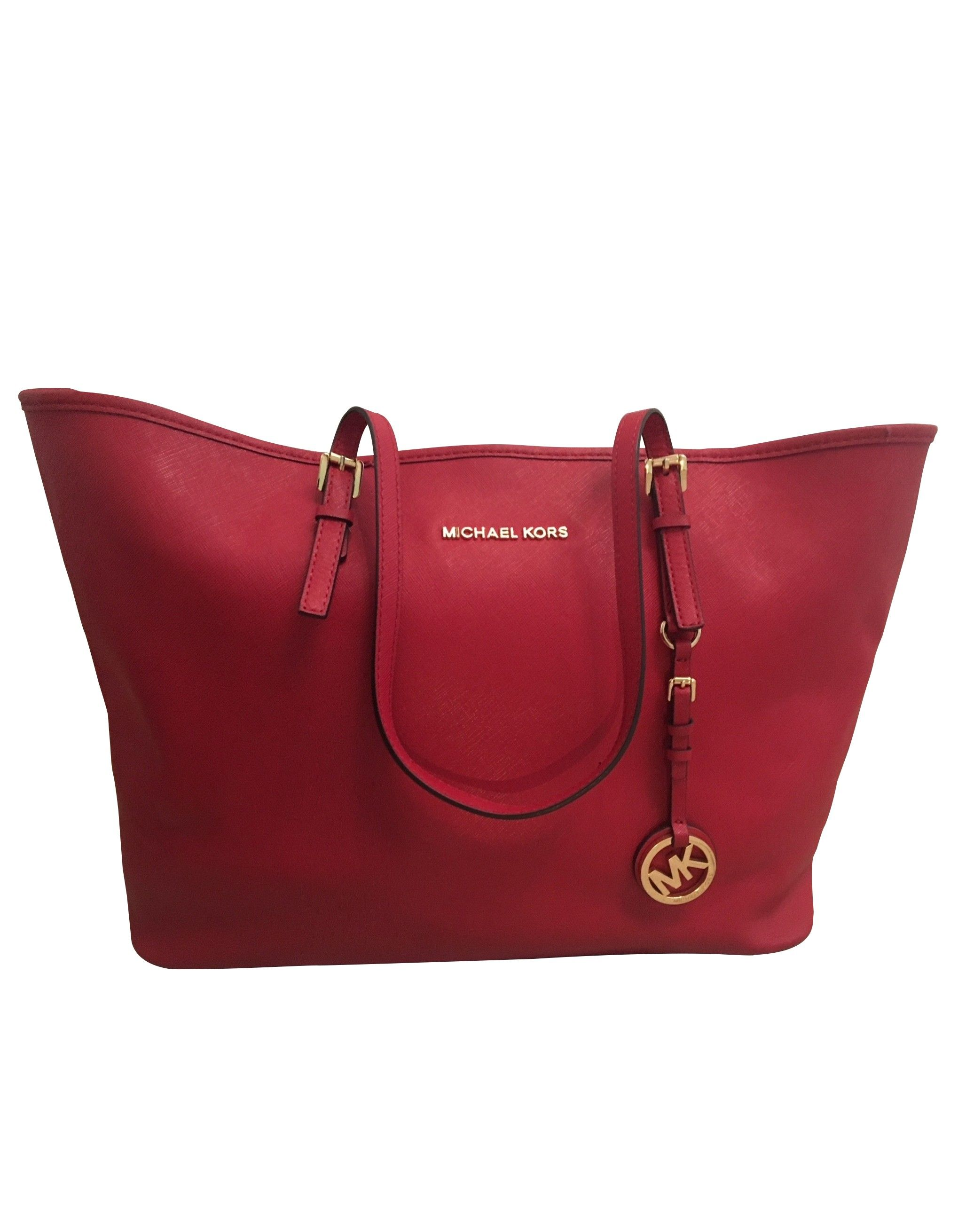 MICHAEL KORS Tasche rot. Secondhand. OUTLET | Tasche rot