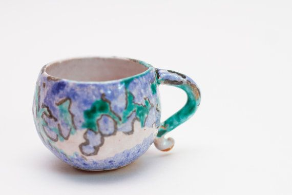 Coffee cup handmade by PotterAsh on Etsy