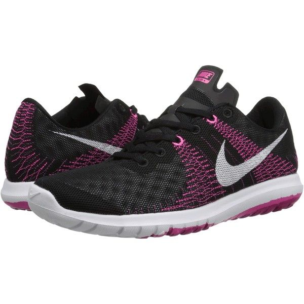 Womens Shoes Nike Flex Fury Black/Pink Foil/Sport Fuchsia/White