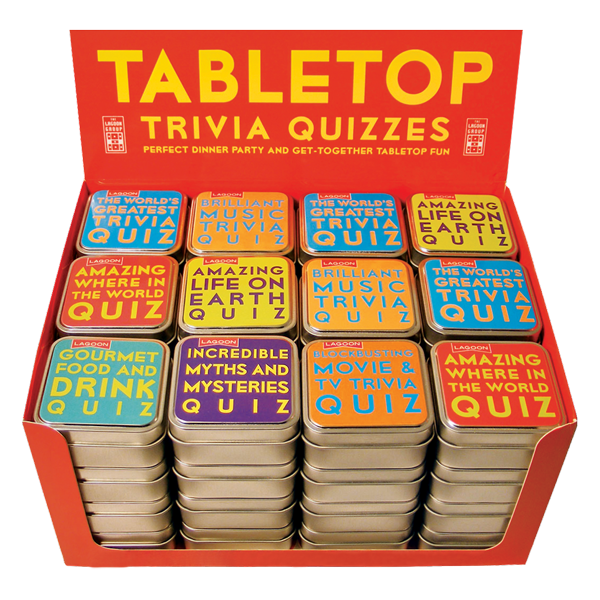 games life quiz gift