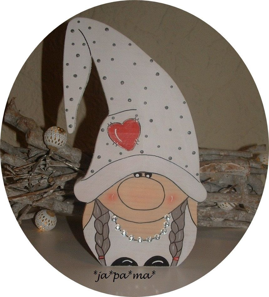 Wichtel Braut aus Holz            Weihnachtsdeko,Adventsdeko,Hochzeitsdeko,Geschenk,Gastgeschenk #lutindenoel