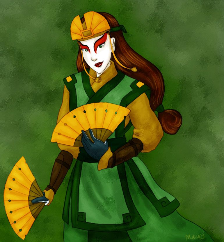 The Last Airbender Avatar Kyoshi: Avatar Kyoshi By Maivry On DeviantArt