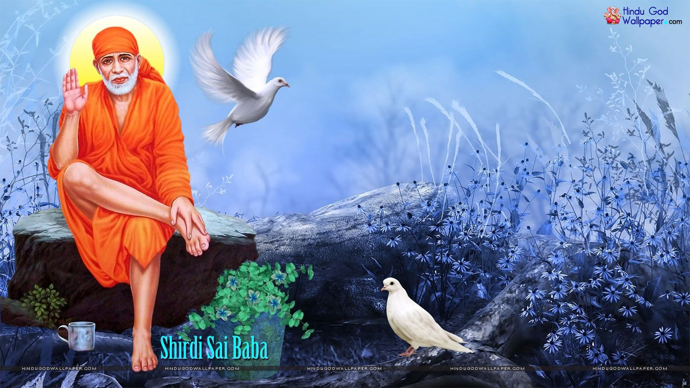 Free Shirdi Sai Baba Wallpapers At Your Desktop And Full Screen Hd