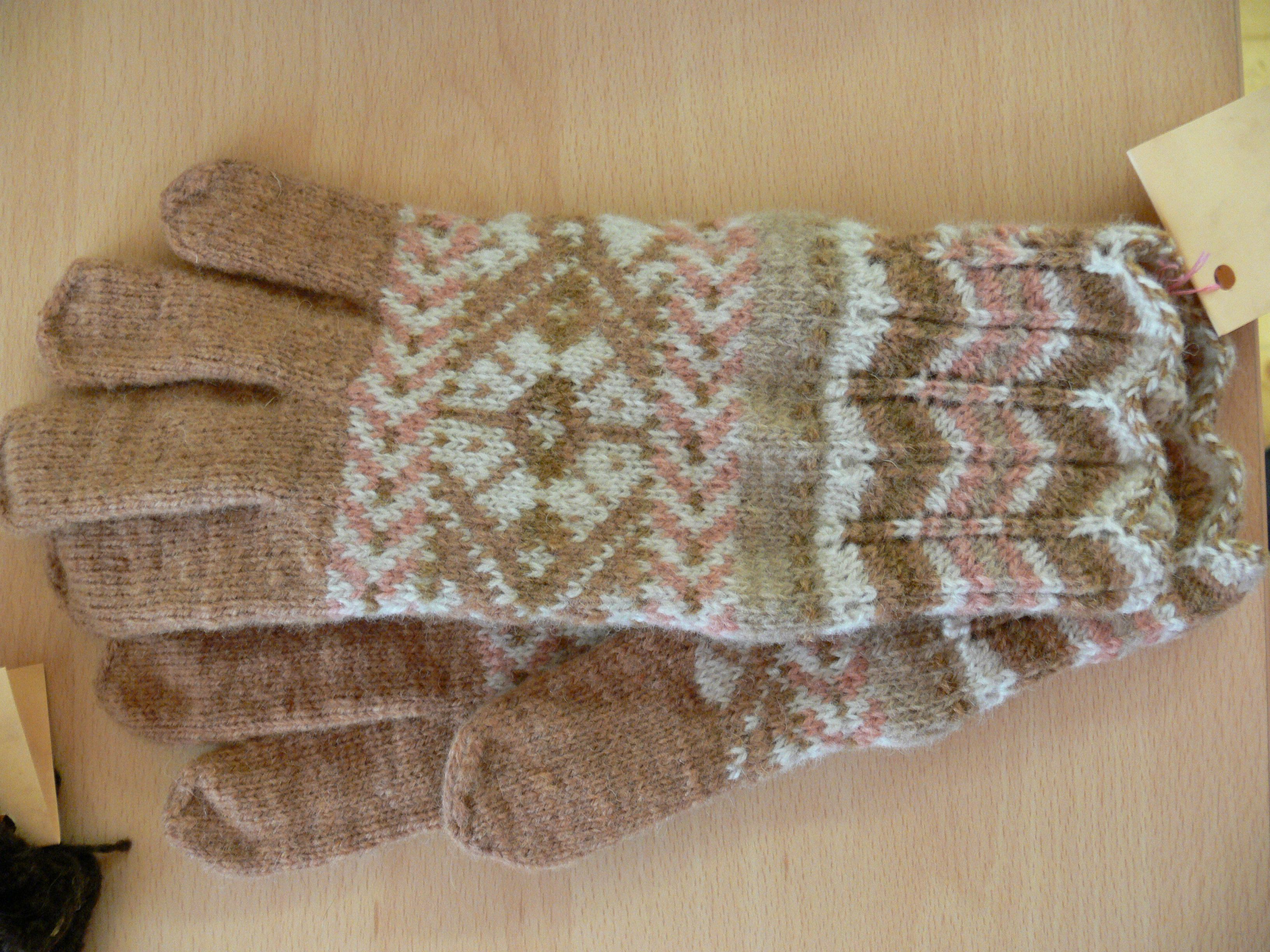 Knitted in Türi, Central Estonia; yarn dyed with mushrooms   Knitted ...