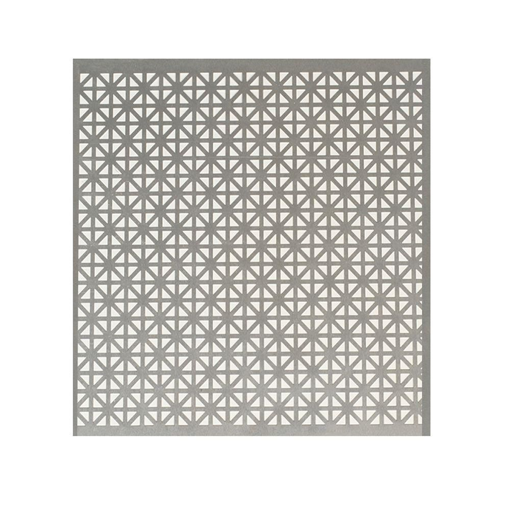 M D Building Products 24 In X 36 In Union Jack Aluminum In Silver 57083 The Home Depot M D Building Products Union Jack Decorative Sheets