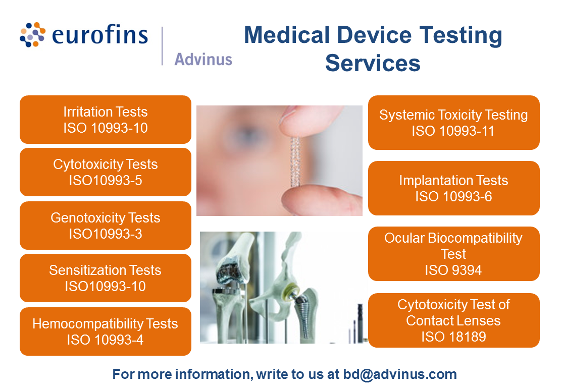Medical Device Testing Services Contract research