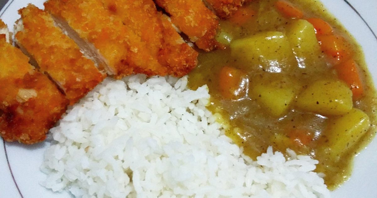 Resep Japanesse Curry Rice With Chicken Katsu Oleh Mega Nov Resep Memasak Resep Resep Makanan